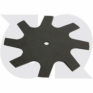 Rotary Lawn Edger Blade, 230mm dia x 2.4mm thick ...