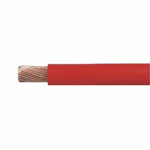 Red Copper Core Flexible PVC Starter Cable - 50mm...