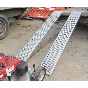 Straight 2m Lightweight Aluminium Loading Ramps -...