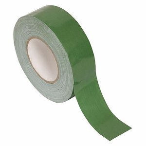 50mm x 50m Green Waterproof Gaffa Tape