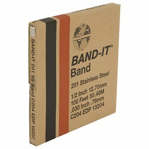 12.5mm Band-It Band, 30.5m coil