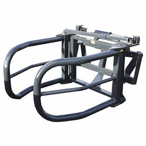 Side Arm Bale Squeeze Attachment