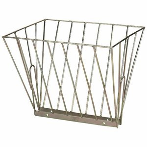 600mm Double Hay Rack - with 43mm gap