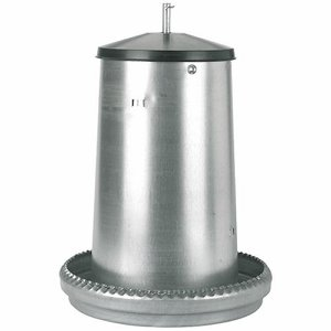 40 Litre Poultry Feeder – Galvanised