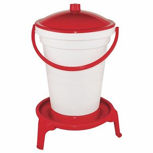 24 Litre Poultry Drinker – Plastic with Stand