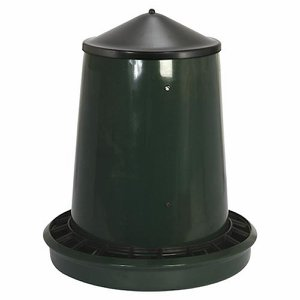 King 25Kg Poultry/Game Feeder with Lid (Indoor)