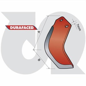 Durafaced® 'E' Type Blade L.H. (to fit Howard/Dow...