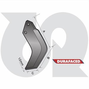 Durafaced® 'S & M' Type Blade L.H.