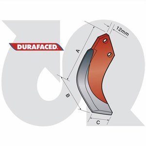 Durafaced® 'S' Type Speed Blade R.H.