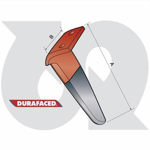 Durafaced® DC, DL, DS Tine L.H.