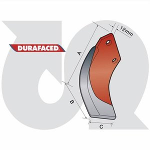 Durafaced® H/Duty Speed Blade R.H. (12mm thick)