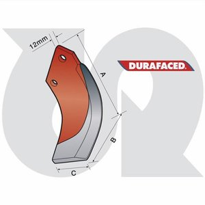 Durafaced® H/Duty Speed Blade L.H. (12mm thick)