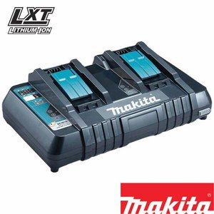 Makita DC18RD Double Battery Charger (240v)