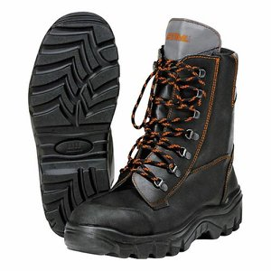 STIHL Ranger Chainsaw Leather Boots – Size 10. 1/...