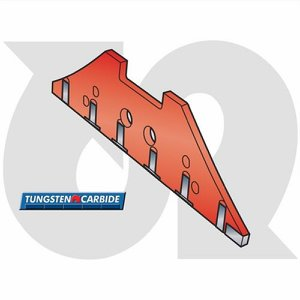 Tungsten Reversible Front Landside R.H.