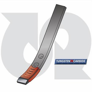 Tungsten, Hard Faced LD Point (To fit HORSCH Terr...