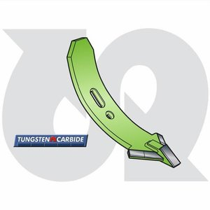 Tungsten CLD Cultivator Point