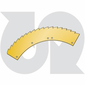 Header Serrated Section, small drum
