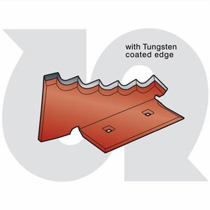 Heavy Duty 6mm Serrated Mixing Blade R.H. with Tun...