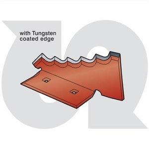 Heavy Duty 6mm Serrated Mixing Blade L.H. with Tun...