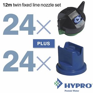 12 Metre Twin Fixed Line Nozzle Set (consists of:...