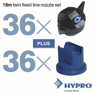 18 Metre Twin Fixed Line Nozzle Set (consists of:...