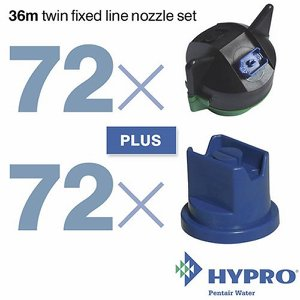36 Metre Twin Fixed Line Nozzle Set (consists of:...