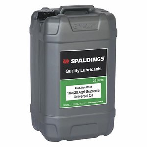 10W-30 High Performance Universal Oil, 25 Litre Dr...