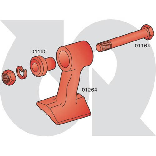 to fit BOMFORD - 'T' flail 60mm (4712)