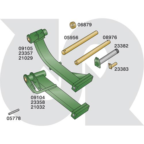 to fit RANSOMES PARKWAY 2250 Plus (Sport 200 / Magna 250) - Lift Arm Parts (9963)