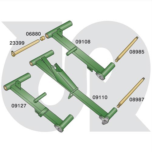 to fit RANSOMES TG3400 / TG4650 - Pre 2003 (Sport 200 / Magna 250) - Lift Arm Parts (8069)