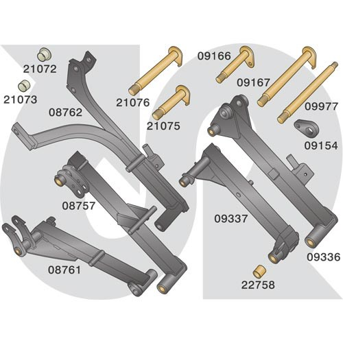 to fit HAYTER (1030 Heads) - Lift Arm Parts (4304)