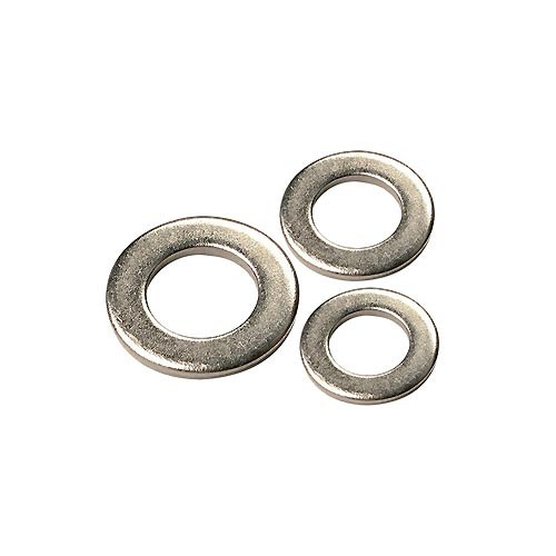 Metric Plated Flat Steel Washers (7332)
