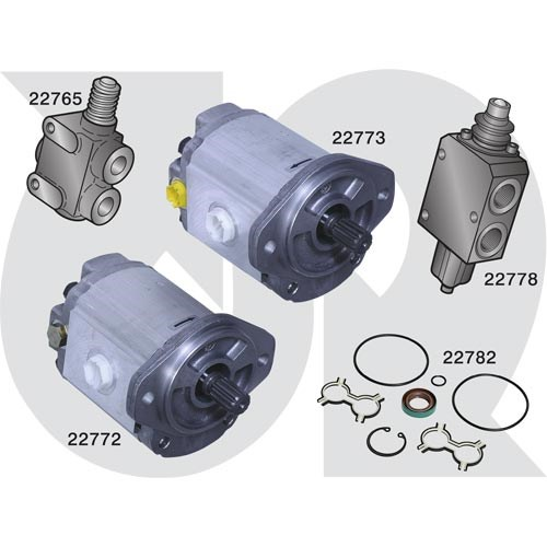 to fit HAYTER (Mk3 Head) - Hydraulic Motors (7563)