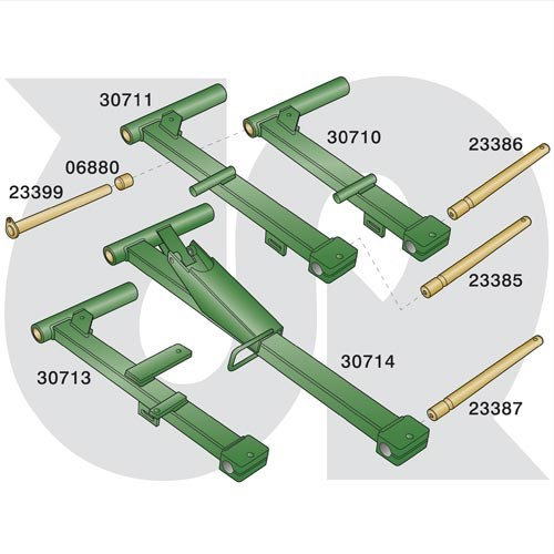 to fit RANSOMES TG3400 / TG4650 - Post 2003 (Sport 200 / Magna 250) - Lift Arm Parts (9955)