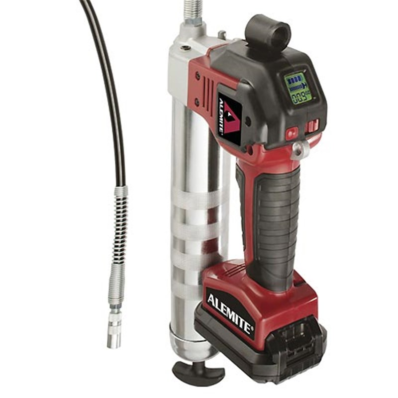 Electric Grease Gun >> Alemite 596 D 20 Volt Cordless Grease Gun With Built In Intelligence 10 000 Psi