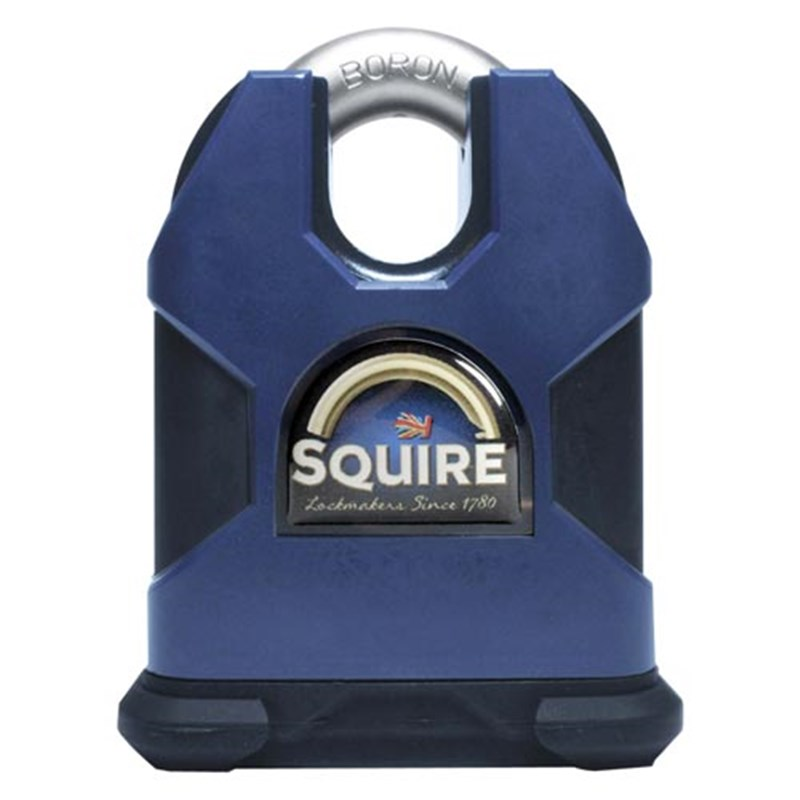 SQUIRE Stronghold® SS80CS 80mm Closed Shackle Stronghold Padlock (CEN 6 Rated, LPCB Grade 3, SBSC Approved)