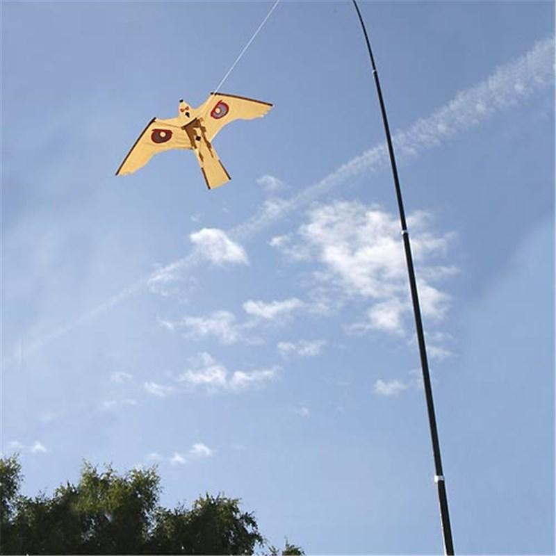 Bird Scaring Hawk Amp Mini Kite Kit C W 7m Extendable Pole