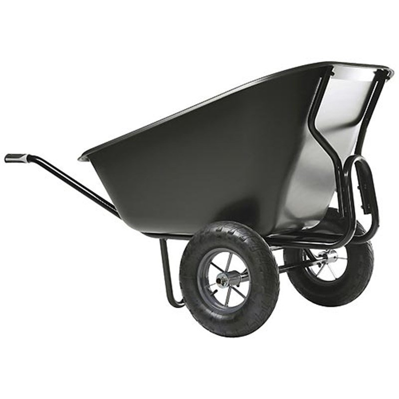 Haemmerlin Colossus 300 ltr Wheelbarrow with Polypropylene Tray
